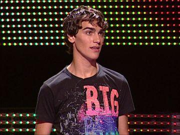 ¿Lo recordabas? Así era Borja en su primera participación en '¡Ahora caigo!' hace diez años