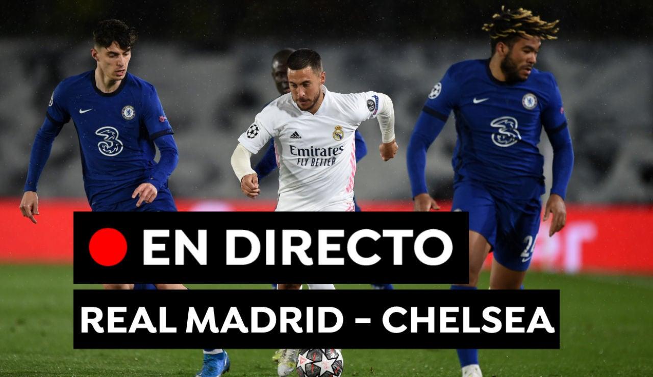 Real Madrid - Chelsea: Resultado y goles de hoy en Champions League