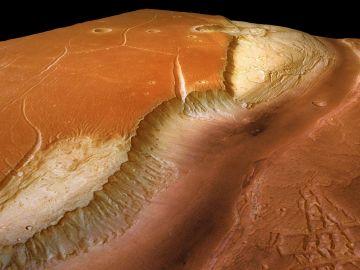 Marte tuvo ríos y lagos gracias a una capa de nubes de hielo