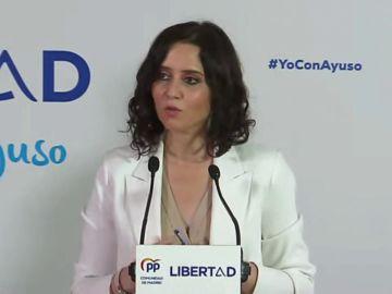 Elecciones en Madrid: La respuesta de Isabel Díaz Ayuso a Ángel Gabilondo sobre el cordón sanitario a Vox