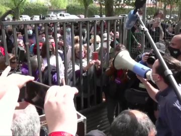 Pablo Iglesias, en un acto en Getafe