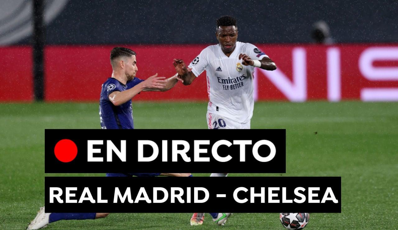 Real Madrid - Chelsea, en directo: Resultado, partido y goles de hoy en Champions League