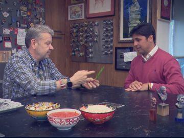 Fran Rivera y Alberto Chicote.