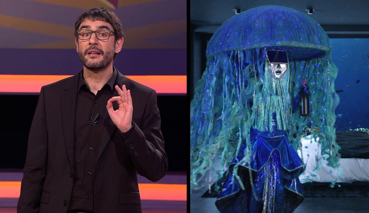 Juanra Bonet da una pista en primicia sobre Medusa, nueva máscara de 'Mask Singer'
