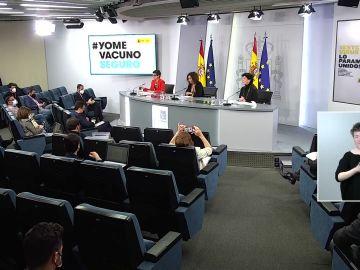Rueda de prensa tras el Consejo de Ministros hoy martes 27 de abril, vídeo en streaming
