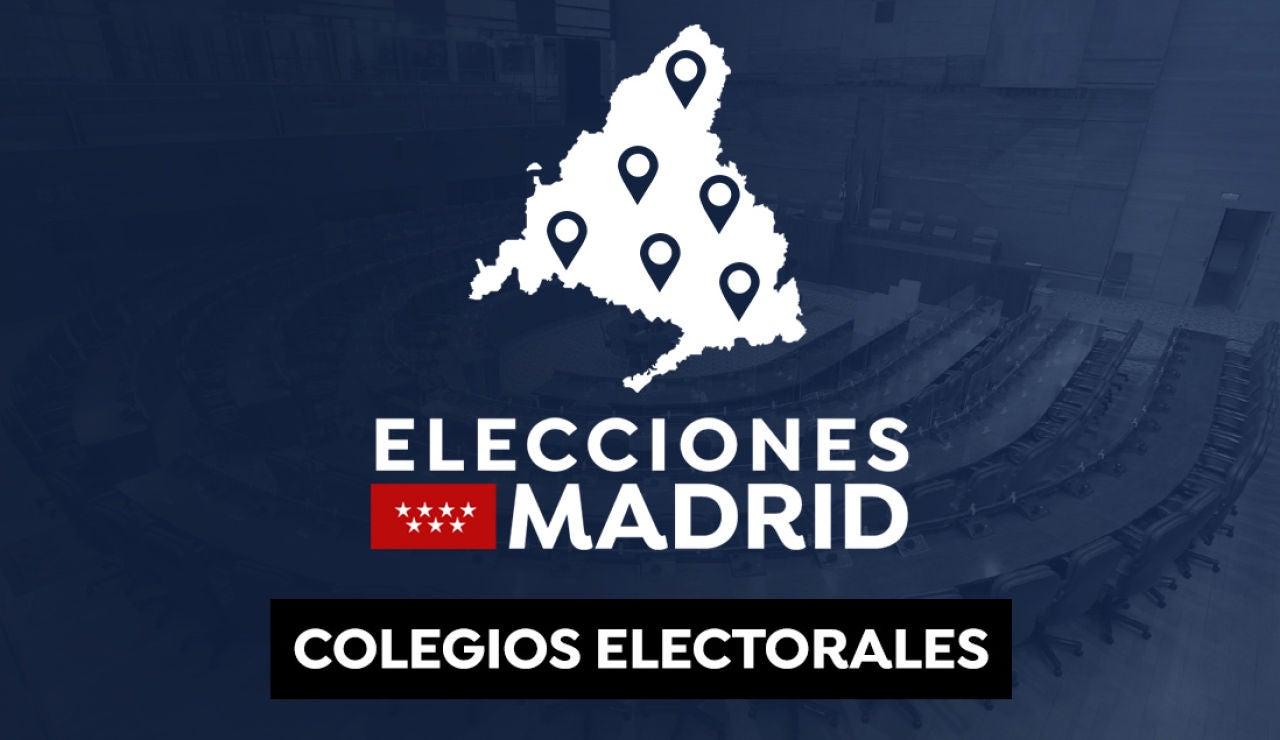Colegios electorales: ¿Dónde voto en las elecciones de Madrid del 4 de mayo?