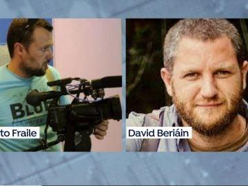 Mueren dos periodistas españoles en Burkina Faso