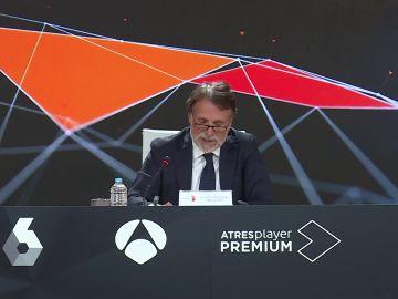 El presidente de Atresmedia, José Crehueras