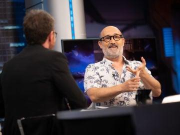 """Javier Cámara se sincera sobre la paternidad en 'El Hormiguero 3.0': """"Es dificilísimo ser padre"""""""