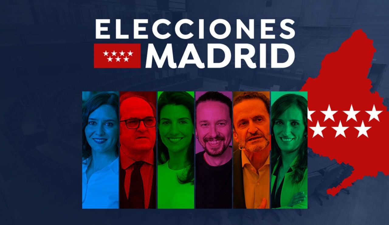 Estas son las profesiones de los candidatos a las elecciones de Madrid