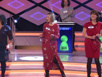 """El """"baile con las cejas"""" de Ana Luz deja impresionado a Juanra Bonet en '¡Boom!'El """"baile con las cejas"""" de Ana Luz deja impresionado a Juanra Bonet en '¡Boom!'"""