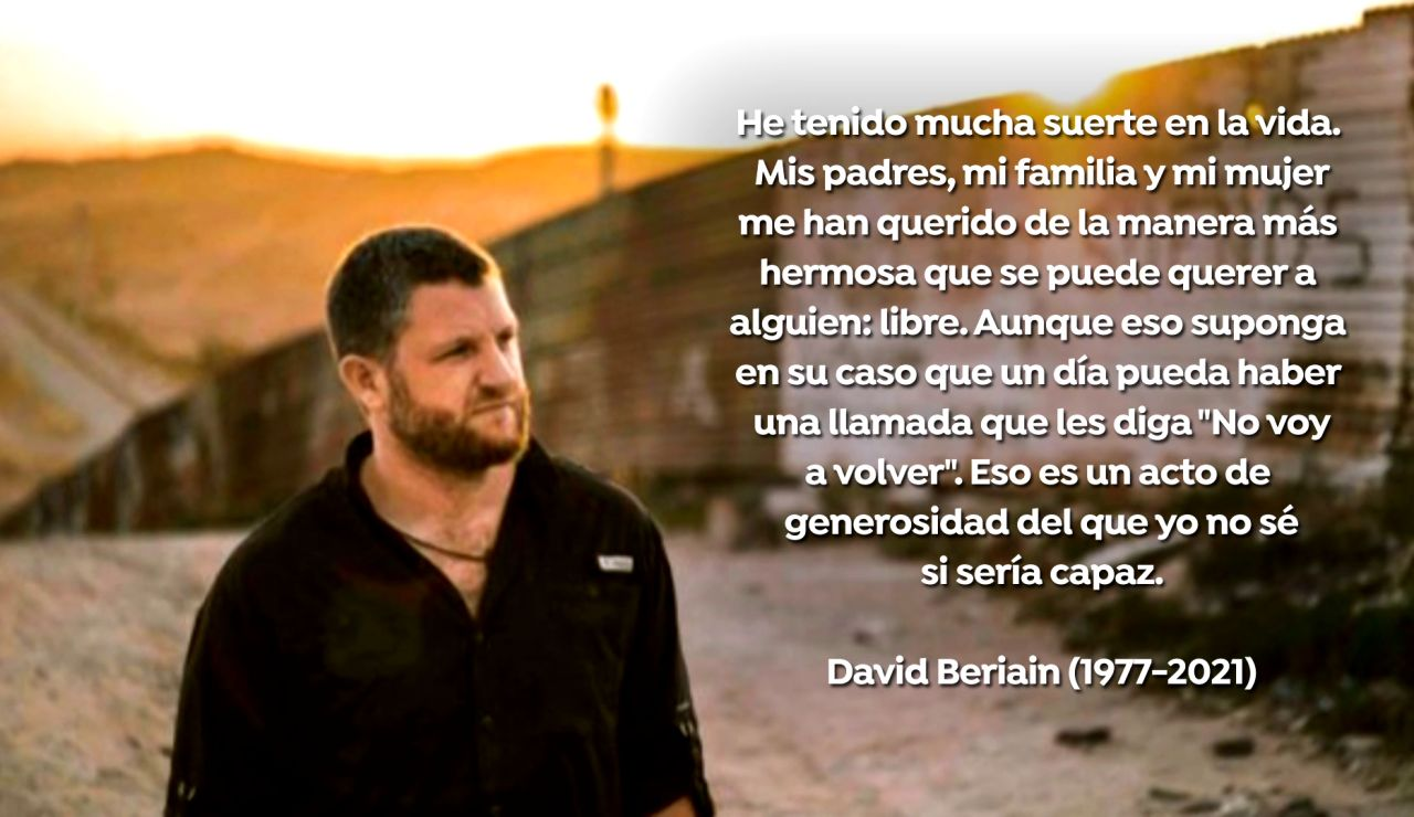 El mensaje de David Beriain