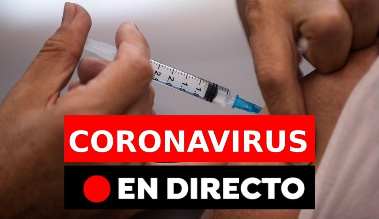 Coronavirus en España: nuevas restricciones antes del fin del estado de alarma y vacunación, en directo