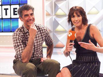 """El sentido agradecimiento de Jorge Fernández y Laura Moure a los espectadores de 'La ruleta de la suerte': """"Un gracias de corazón"""""""