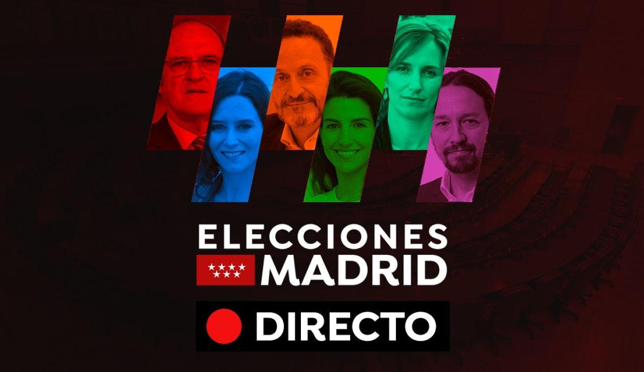 Elecciones Madrid 2021: Encuestas, horarios para votar y últimas noticias del 4M, en directo