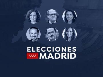 Candidatos de las elecciones de Madrid