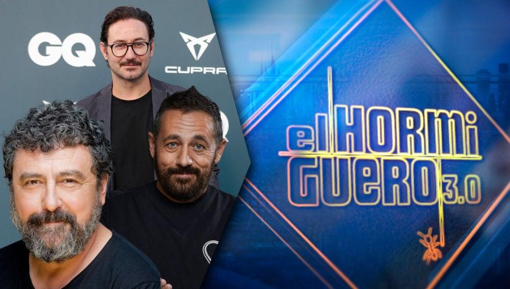 El lunes 3 de mayo, Paco Tous, Pepón Nieto y Carlos Santos, 'Los hombres de Paco' en 'El Hormiguero 3.0'