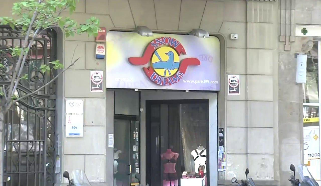 Fiesta ilegal en Barcelona