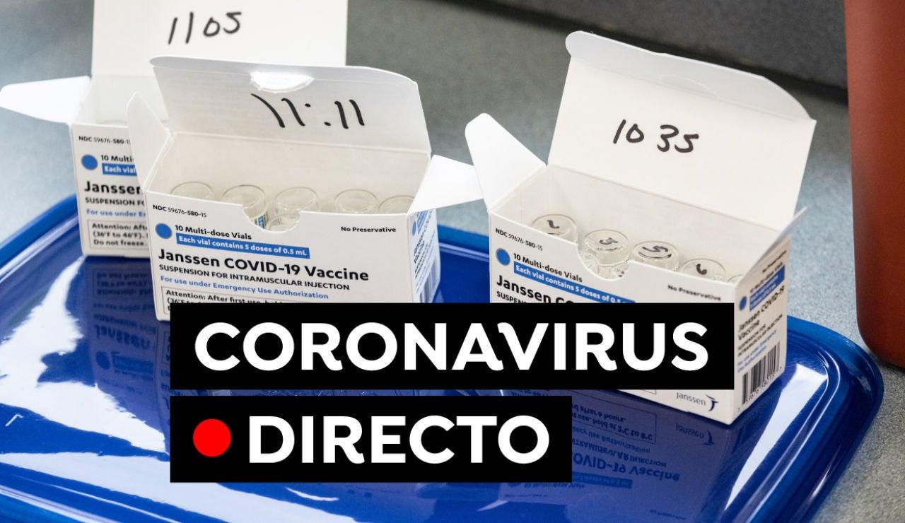 COVID-19 en España: Fin del estado de alarma, restricciones y vacuna hoy, en directo