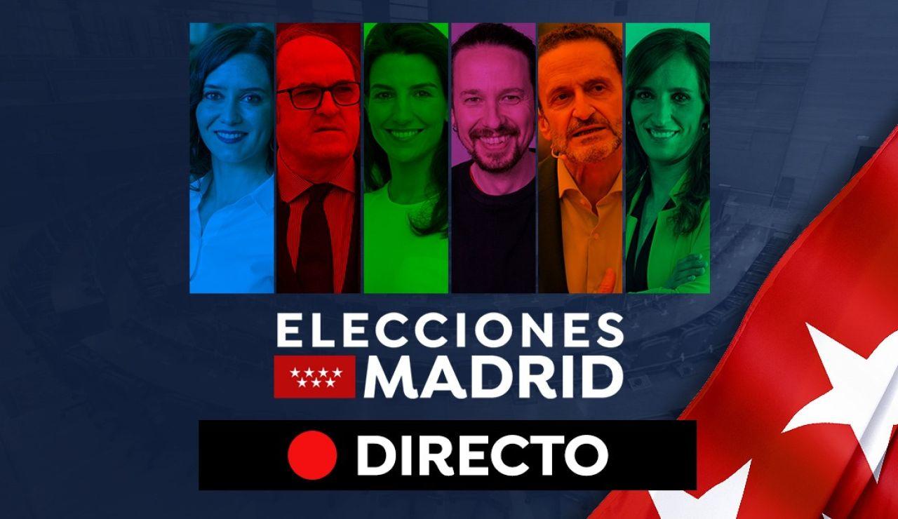 Elecciones Madrid 2021: Encuestas, candidatos del 4 de mayo y últimas noticias hoy, en directo