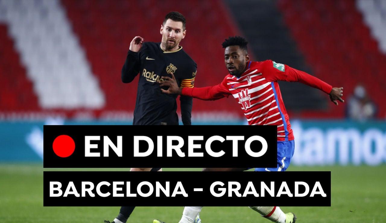 Barcelona - Granada: Alineaciones oficiales del partido de Liga Santander hoy, en directo