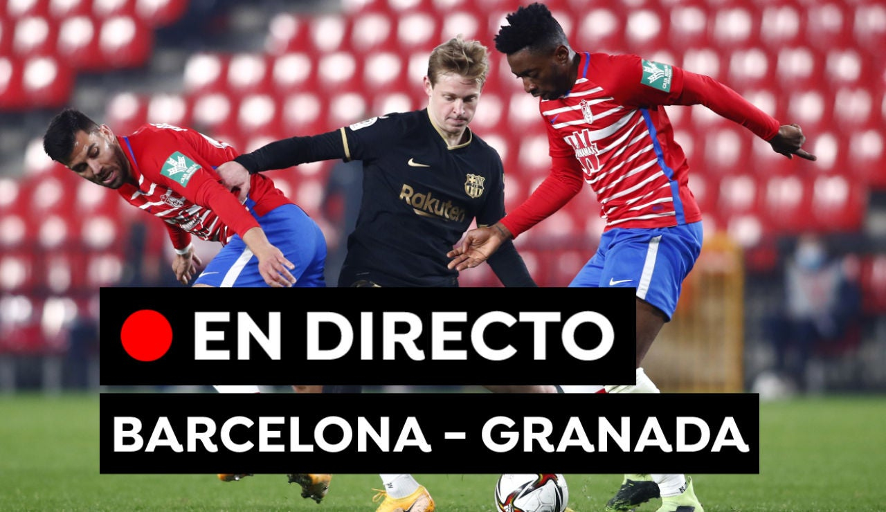 Barcelona - Granada: Partido y alineaciones de Liga Santander hoy, en directo