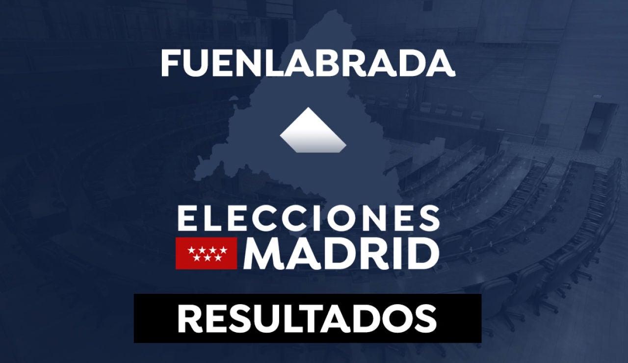 Resultado en Fuenlabrada de las elecciones a la Comunidad de Madrid