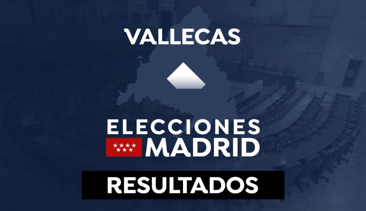 Resultado Vallecas en las elecciones de Madrid