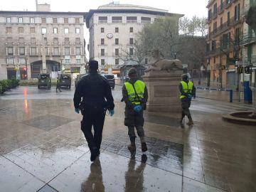 El Ejército por las calles de Palma