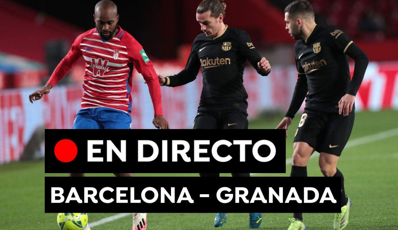 Barcelona vs Granada, en directo: Liga Santander