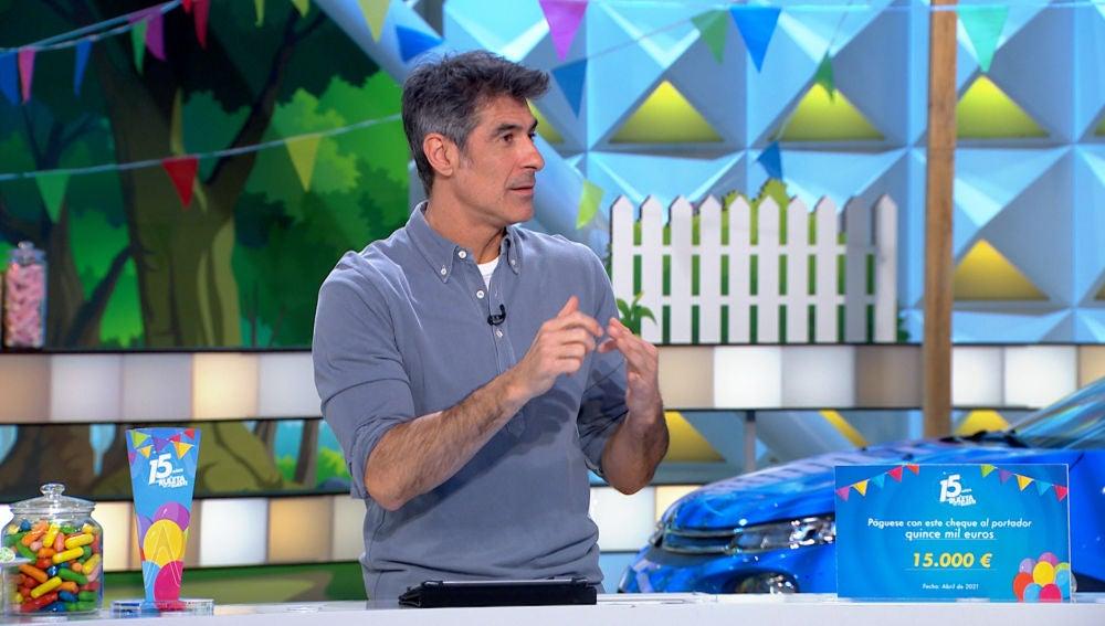 El divertido 'malentendido' entre Jorge Fernández y Félix en 'La ruleta de la suerte'
