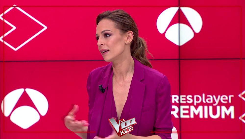 """Eva González se deshace en halagos hacia los asesores de 'La Voz Kids': """"Aitana es una maravilla de niña"""""""