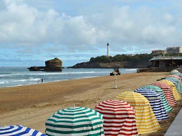 Playas en Biarritz