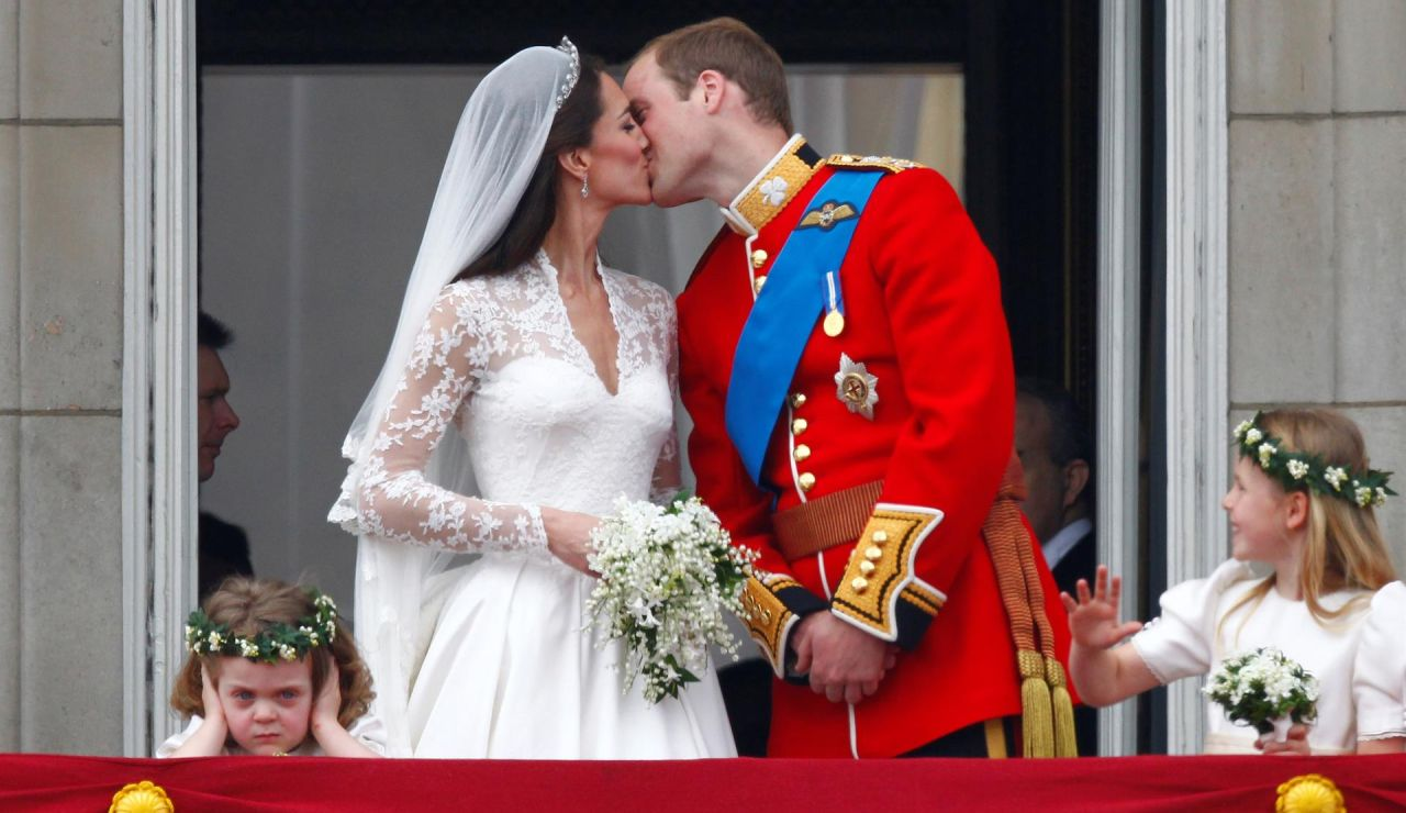 Duques de Cambridge en su boda