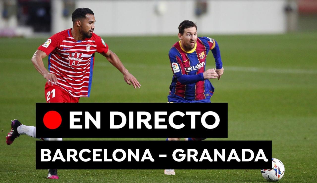 Barcelona - Granada: Resultado y goles del partido de Liga Santander hoy, en directo