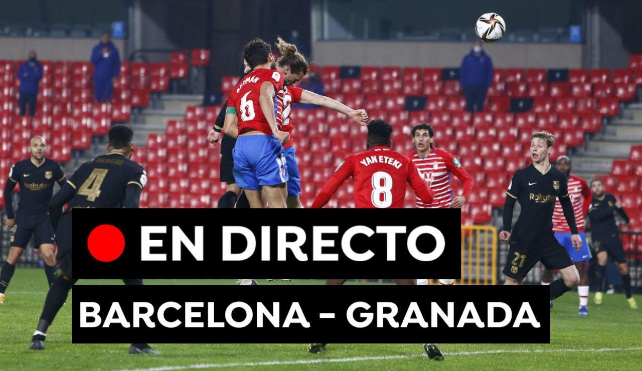 Barcelona - Granada: Partido de fútbol de hoy de Liga Santander, en directo