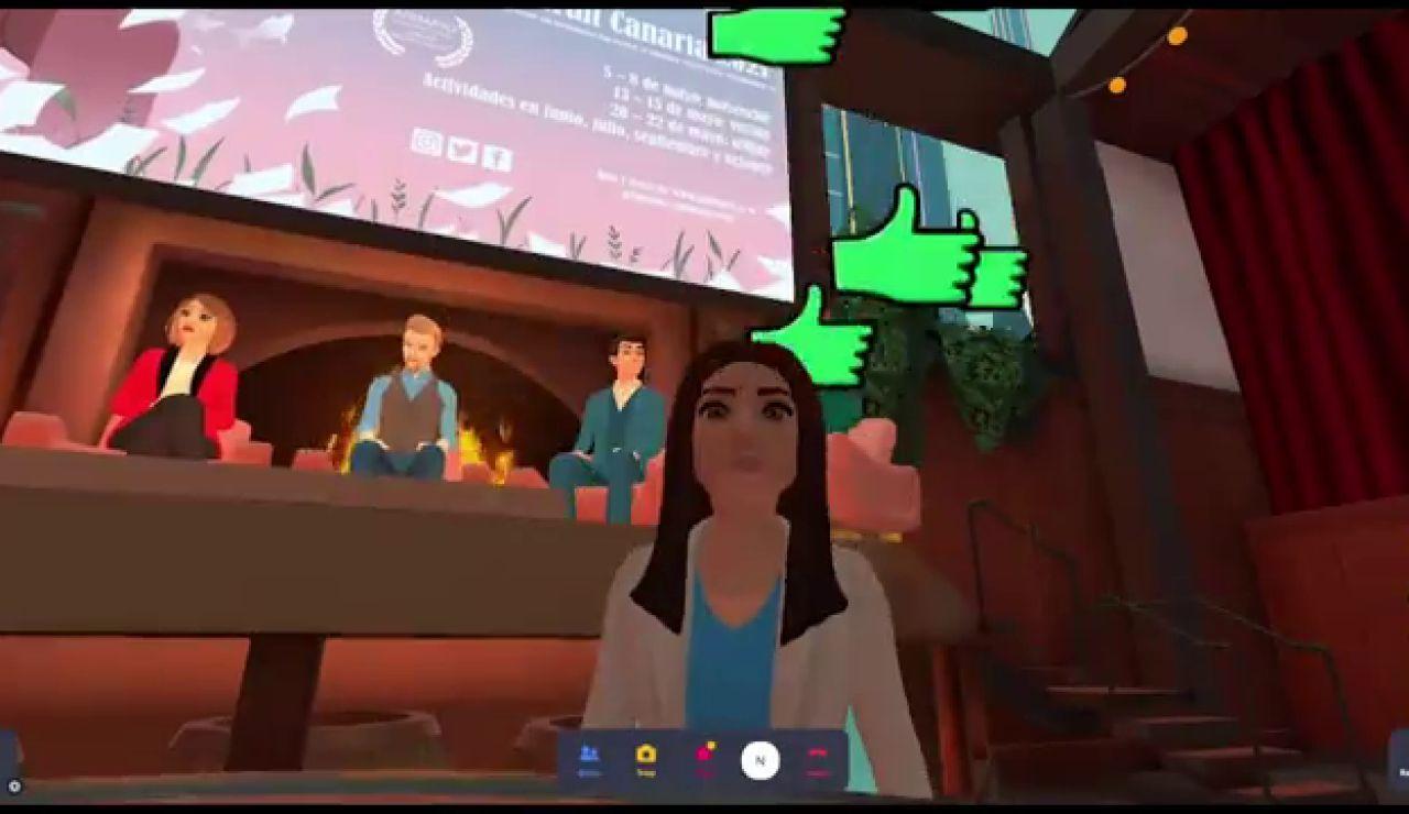 La sorprendente rueda de prensa virtual con avatares del Festival Animayo
