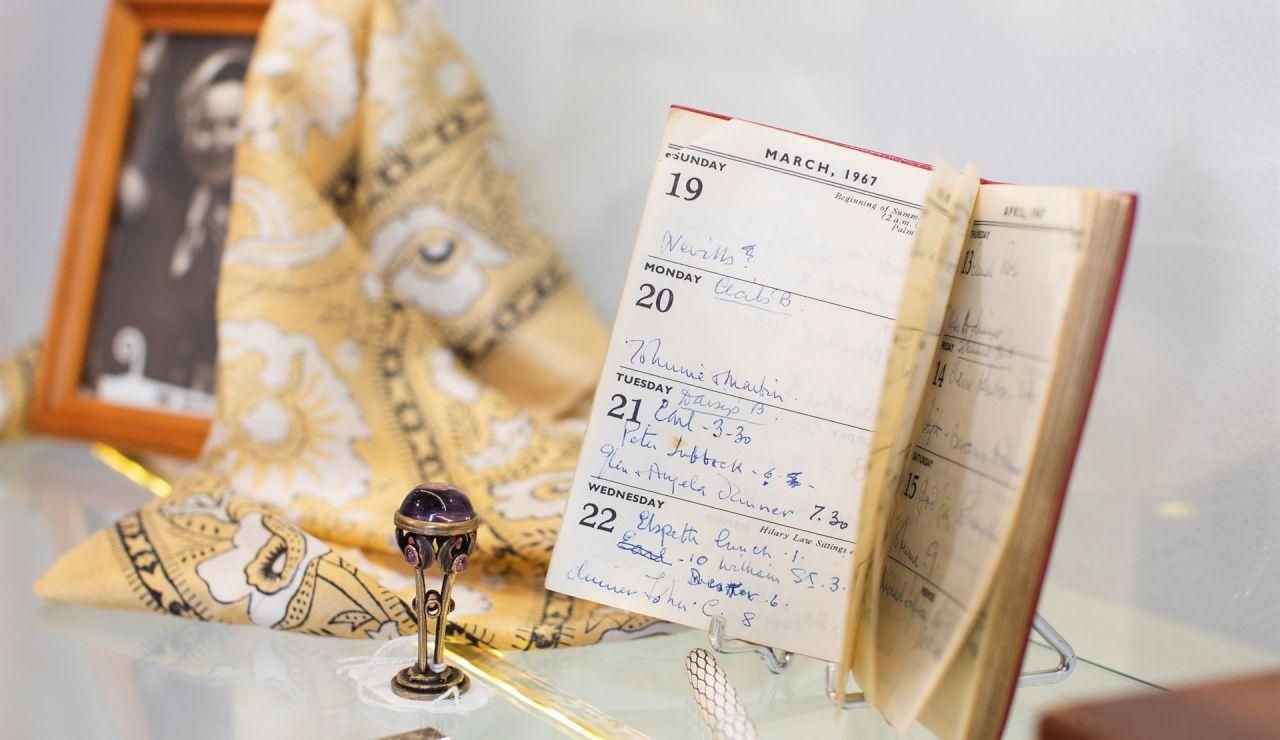 Cuaderno personal de la actriz