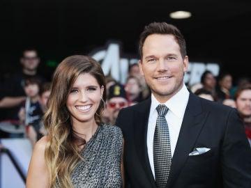 Chris Pratt y su mujer Katherine Schwarzenegger
