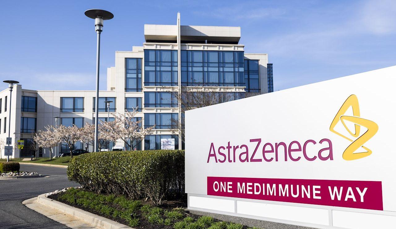 Foto de la sede de la fachada de AstraZeneca