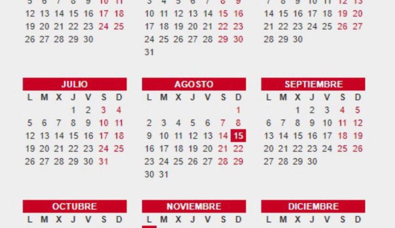 Calendario laboral mayo 2021: Días festivos y puentes en tu localidad y comunidad autónoma