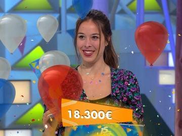 Alicia se proclama como ganadora del 15 aniversario de 'La ruleta de la suerte': ¡Se lleva 18.300€!