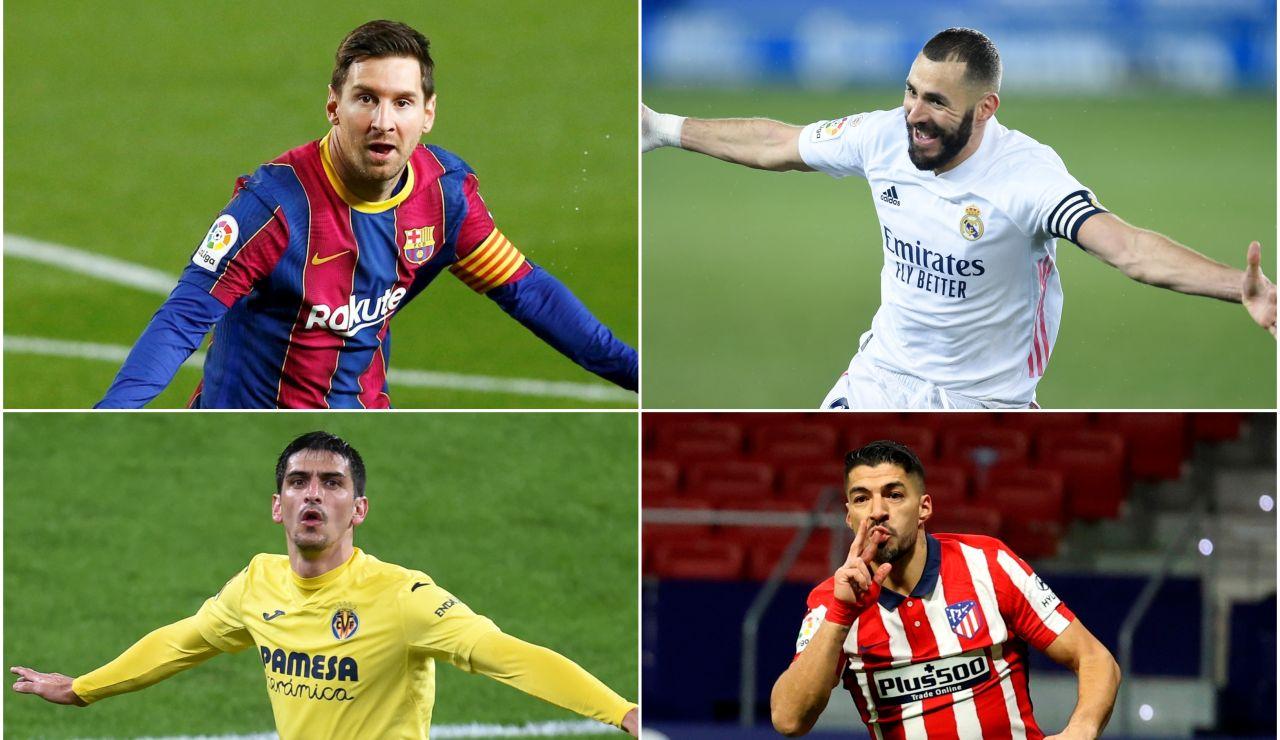 VOTA: ¿Quién será el pichichi de la Liga Santander?