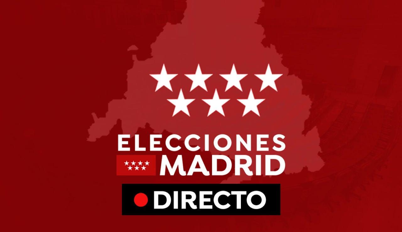 Elecciones Madrid 2021 en directo