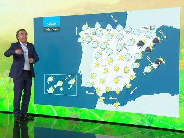 La previsión de Roberto Brasero 30 abril