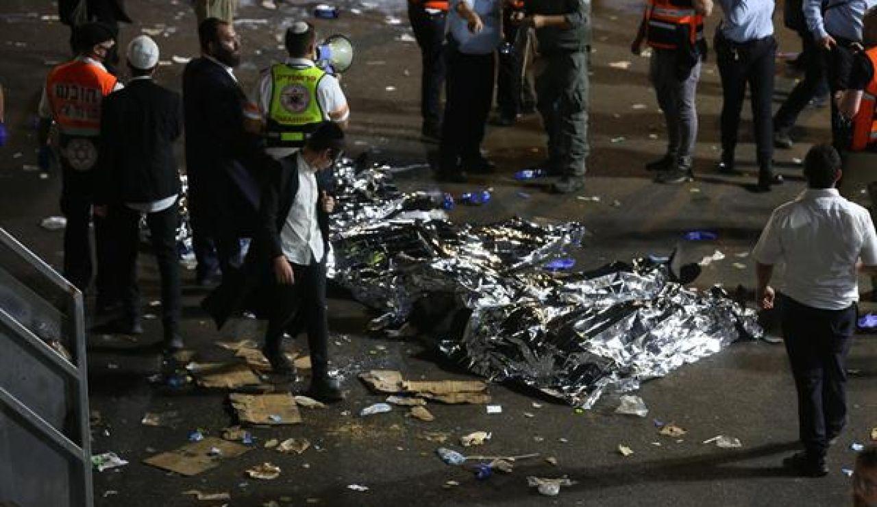 Decenas de muertos en Israel por una estampida humana