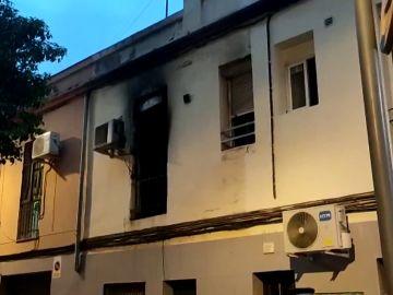 Imagen de la casa en la que se produjo el incendio