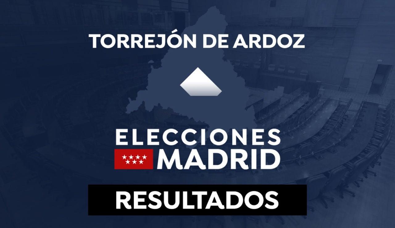 Resultado en Torrejón de Ardoz de las elecciones a la Comunidad de Madrid