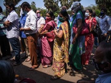 Nuevo récord de contagios por coronavirus en India