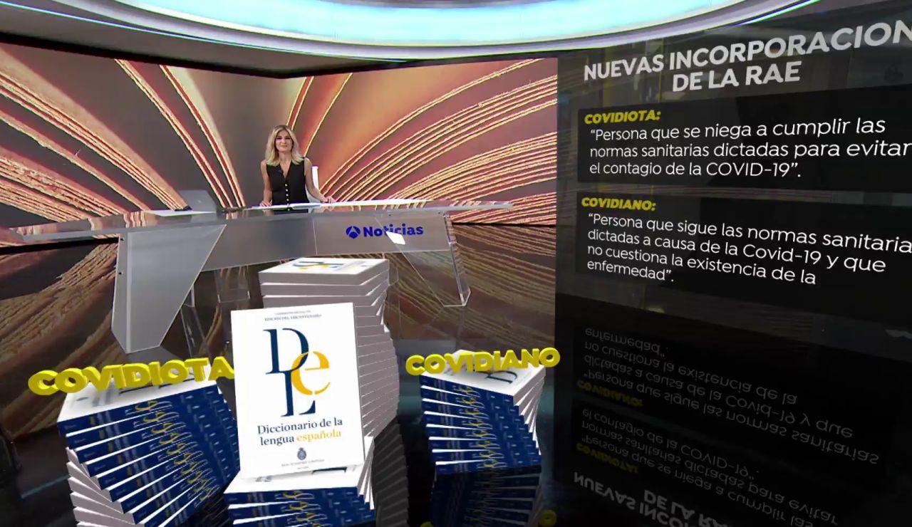 'Covidiota' o 'covifiesta', en el 'coronadiccionario' de la RAE por la pandemia de coronavirus